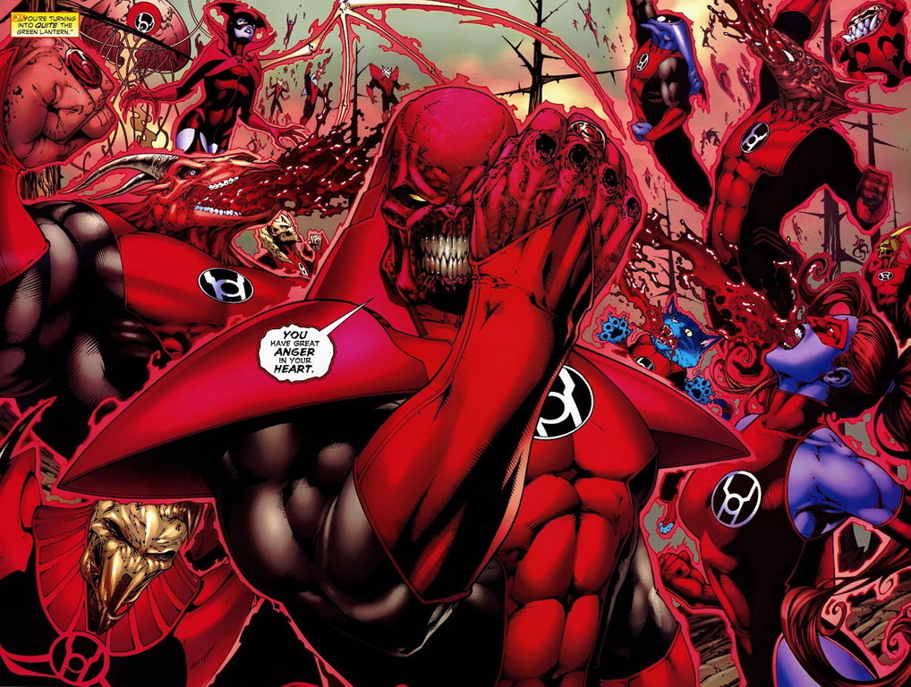 Final Crisis Rage of the Red Lanterns 1-6
