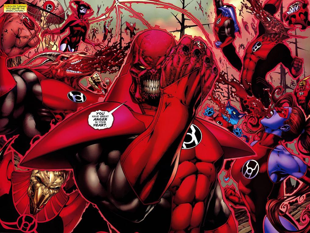 Final Crisis Rage of the Red Lanterns 1-6