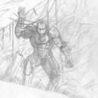 Iron Man blyertsskiss