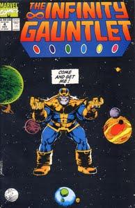Man vill onekligen spöa Thanos efter att ha sett omslaget.