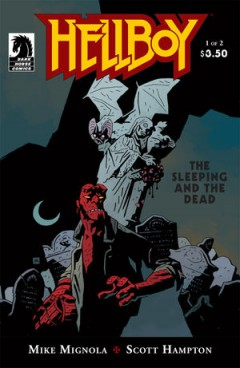 Sleeping and the Dead # 1omslag