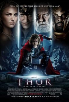 För en snyggare affisch sök på Thor poster by Olly Moss!