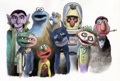 seriekonst-bat-muppets