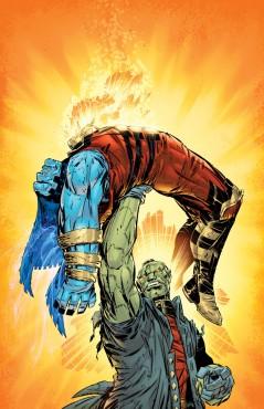 DC hann före Frankenstein med att nedlägga O.M.A.C.