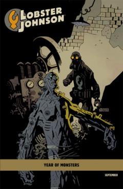 Frankensteins monster gör ett välkommet gästspel på Mignolas alternativomslag.