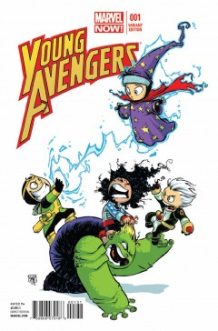 Young Avengers #1 Variant Cover av Skottie Young