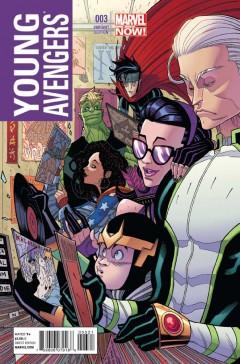 Young Avengers #3 Variant Cover av Luther Strode-skaparen Tradd Moore