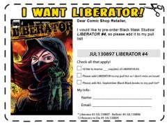 Skriv ut och tag med till din lokala seriehökare om detta verkar vara något för dig!