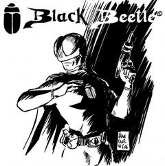 Francavillas första teckning av Black Beetle från 2006.