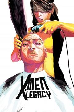 Farväl X-Men Legacy och tack Mike Del Mundo för alla snygga omslag.