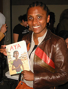 Marguerite Abouet. Foto: Calvin Reid, Publishers Weekly.