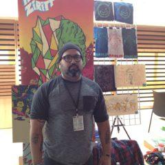 Fick äntligen möta Alexis Ziritt vars serier jag köpt alltsedan egna etiketten Calavera Comics började sin utgivning för tio år sedan. Nästa år i Stockholm?