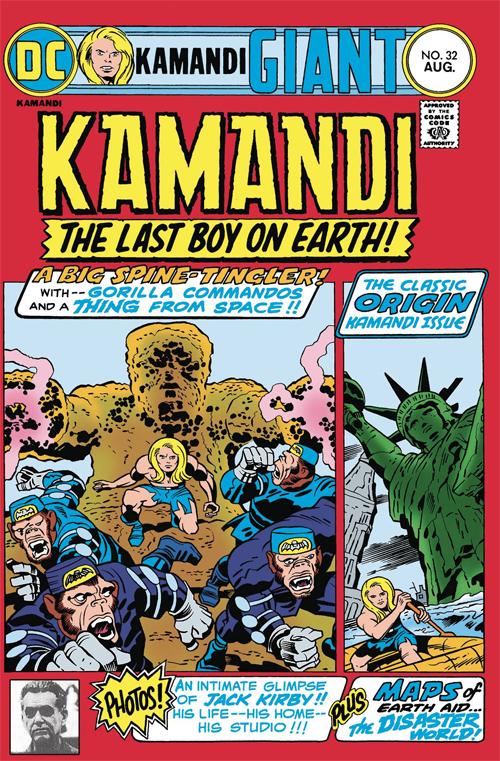 Merparten av materialet i Kamandi Challenge Special # 1 kommer härifrån.